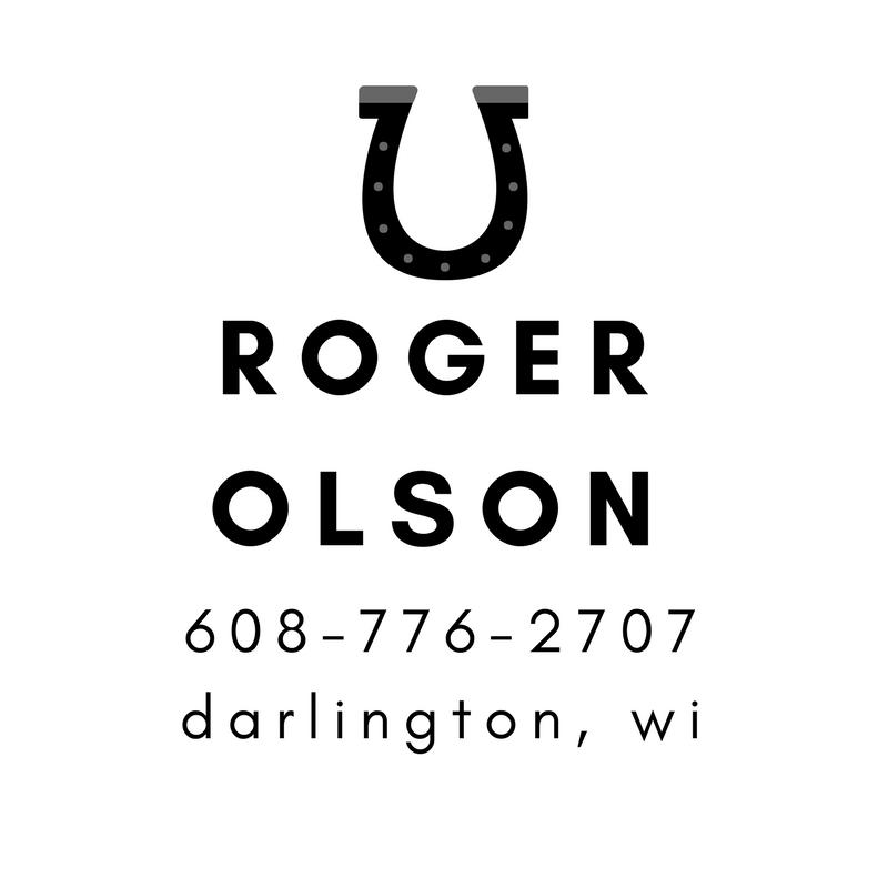 Roger Olson - Darlington - Farrier