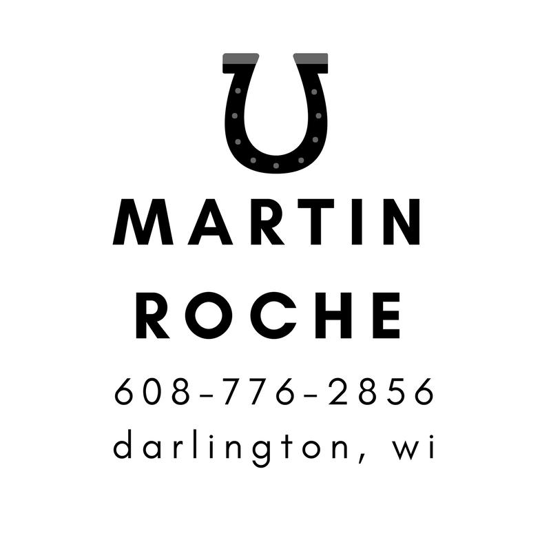 Martin Roche - Darlington - Farrier