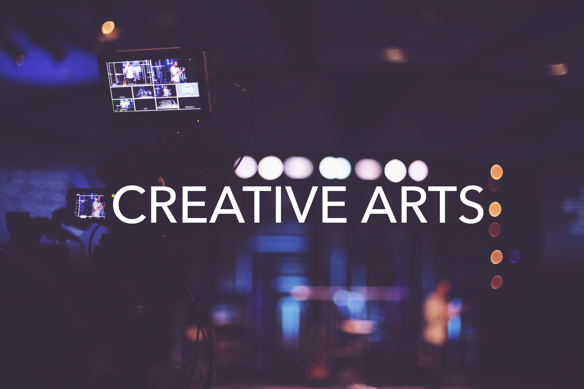 Worship, Sound, Lighting, Video, Set Design, Painting, Graphics, Decor