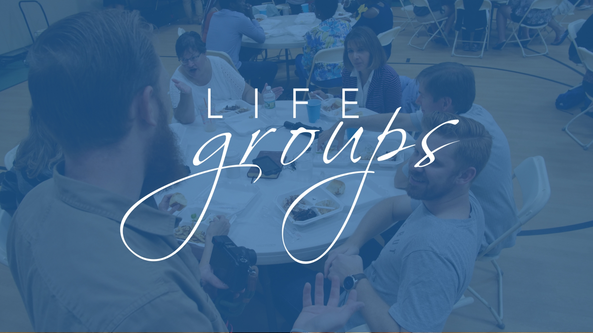 The life of the church flows through Lifegroup