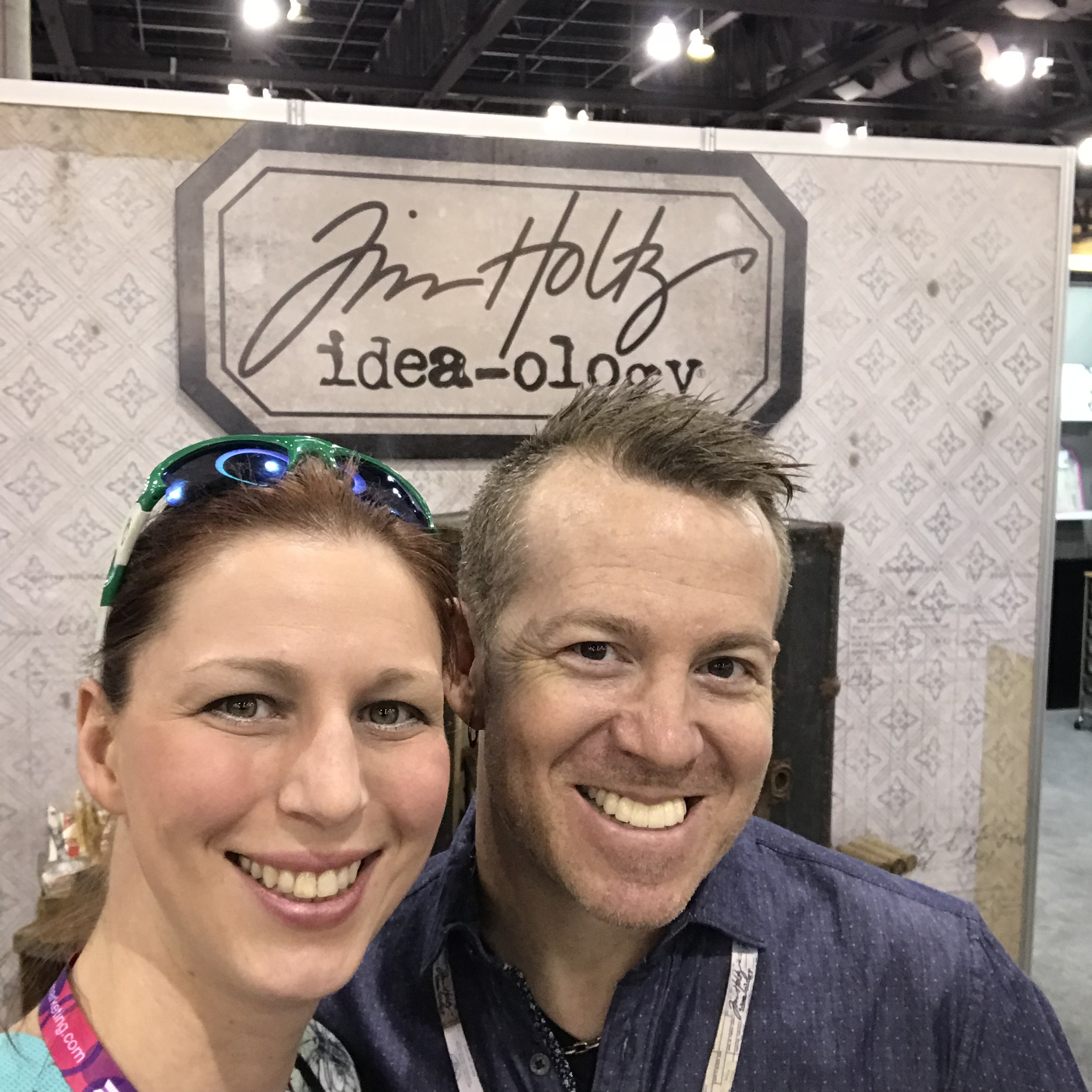 With Tim Holtz