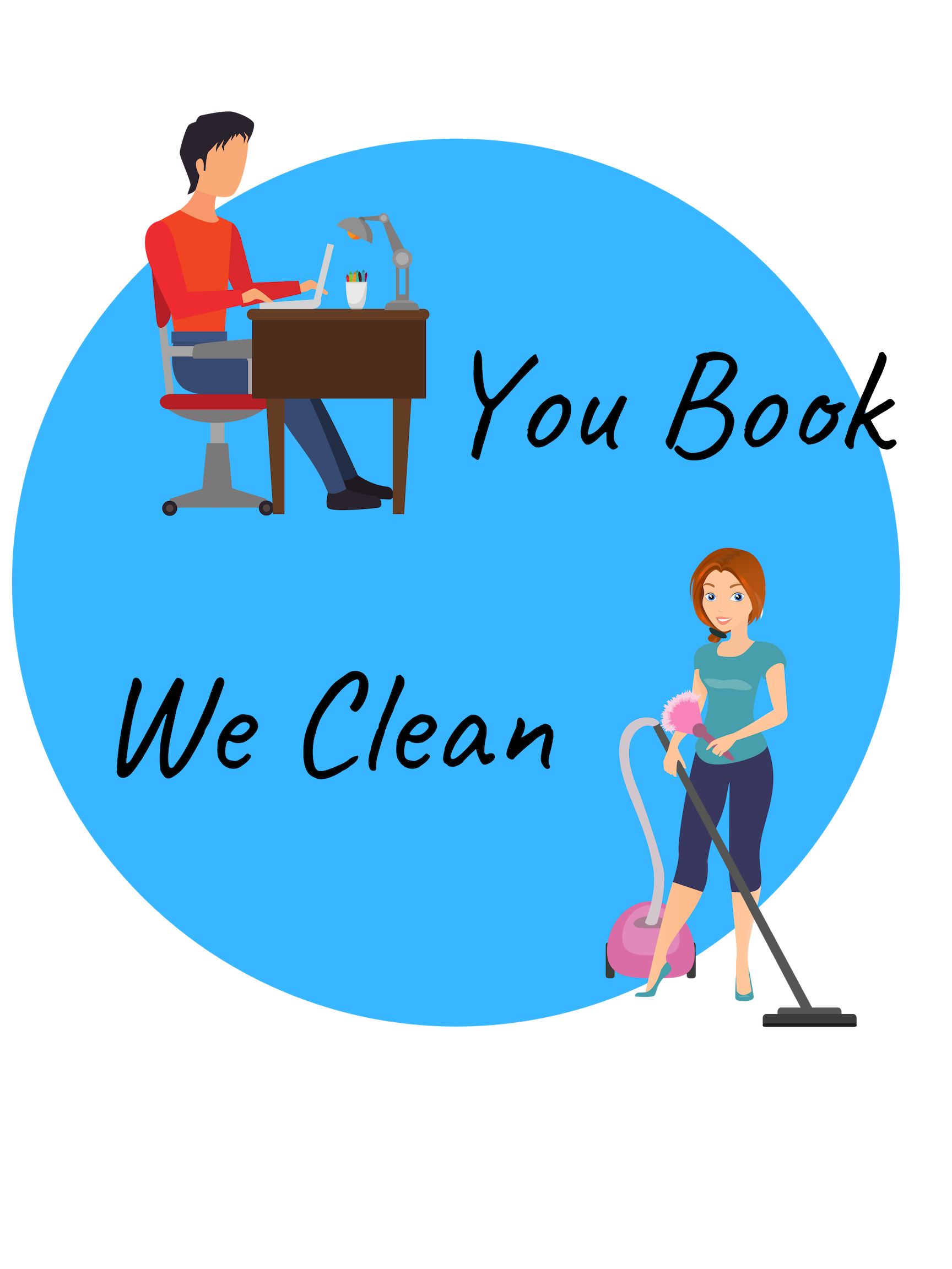 Our Easy Process - You have a busy life, don't overcomplicate even more by trying to figure out who will clean your home or what day and time they are available. Our easy online booking software allows YOU to decide when we clean.Finally, A cleaning service built around your schedule.