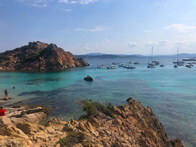 Photos will never do this magical place justice. Sardinia, you're a dream ⛵️✨ . . . . . #italy #sardinia #europetravel #mediterranean #travel #travelphotography #views #adventure
