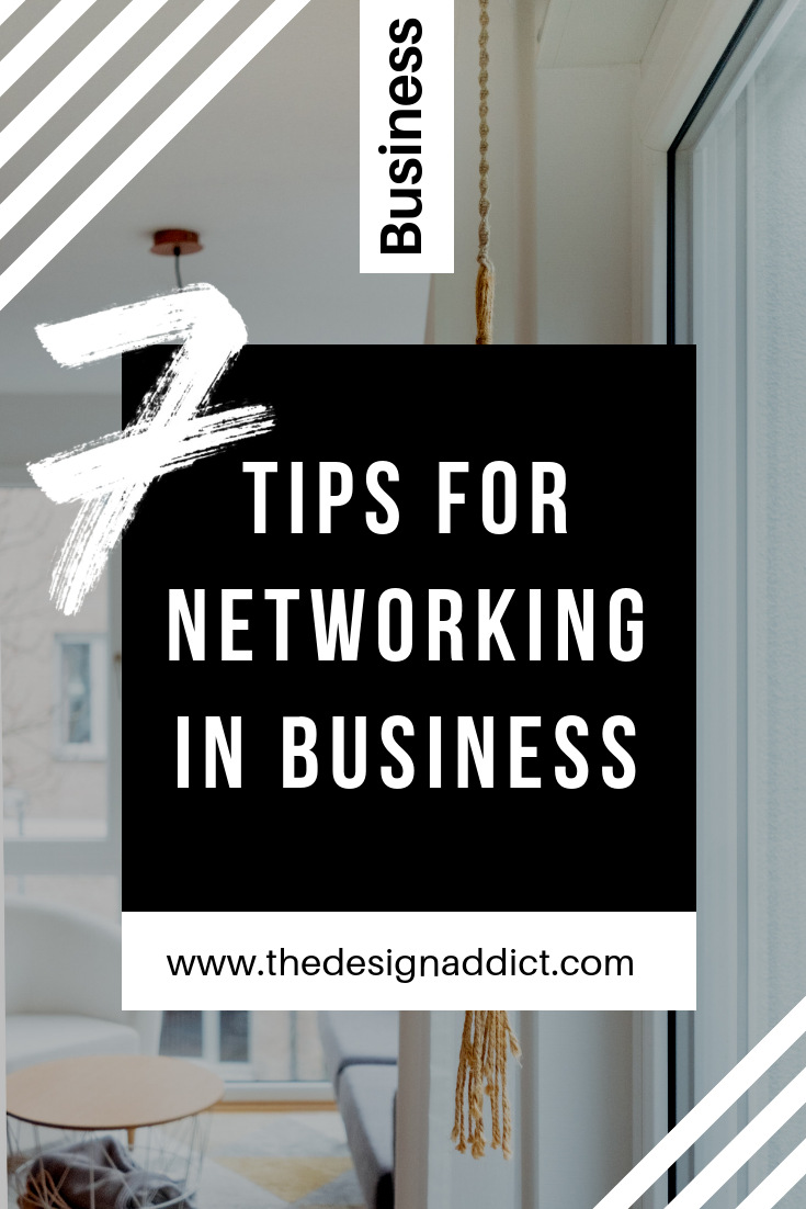 7 Business tips for Networking in business