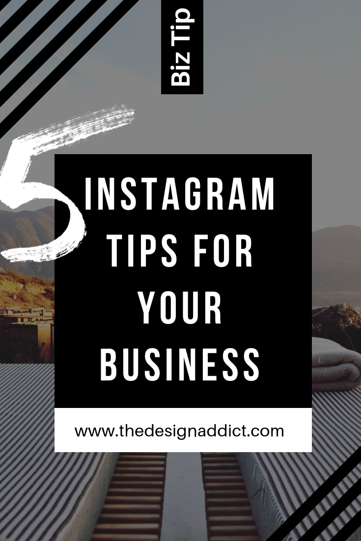 5 Instagram Tips for your Business