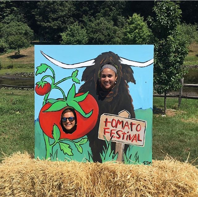 Tomato Fest - Han and Alexa faces in board.jpg