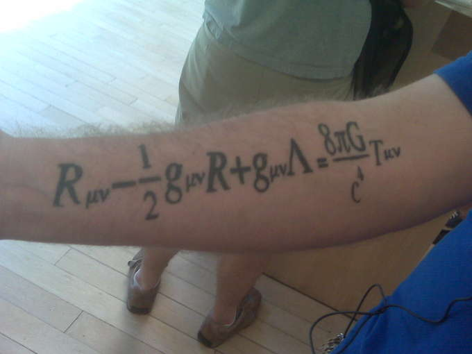 Tattoo of Relativity