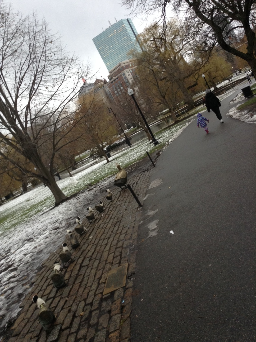 Make Way for Ducklings...