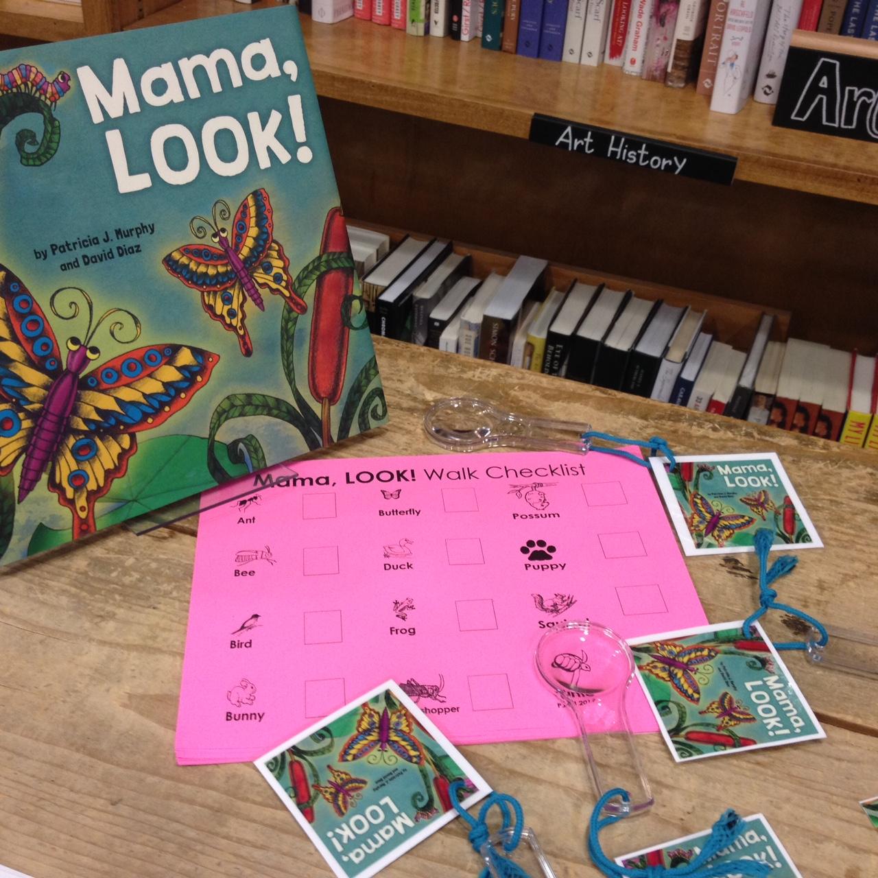 """Mama, LOOK!"" Bookmarks and ""ML"" Walk Checklist!"
