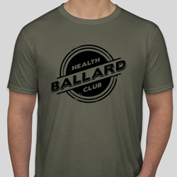 Jersey T-shirt - Heather Military Green $20