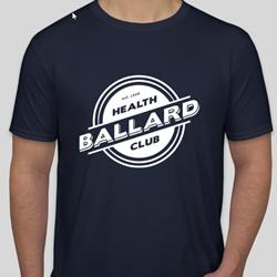 Jersey T-shirt - Navy $20