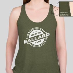 Tri-Blend Racerback Tank - Military Green $20