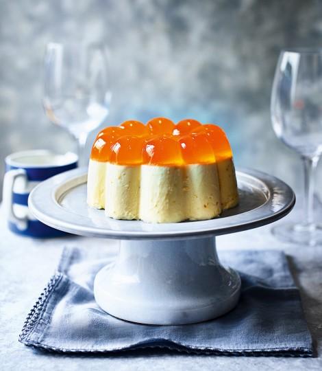 Aperol Spritz Blancmange