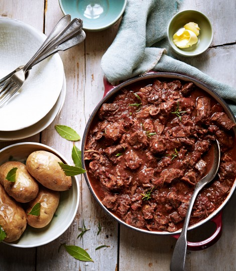 Theo Randall's Beef and Porcini Stew