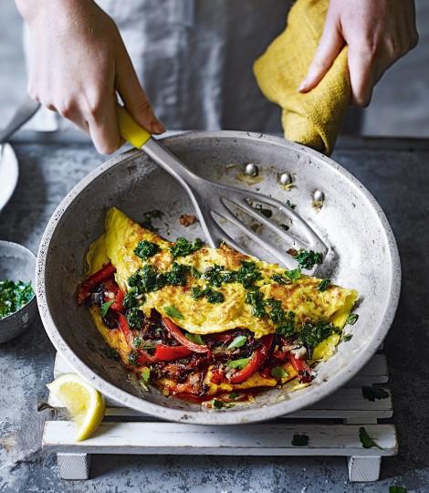Spicy Nduja Omelette