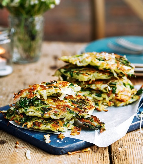 Kale and Potato Rosti