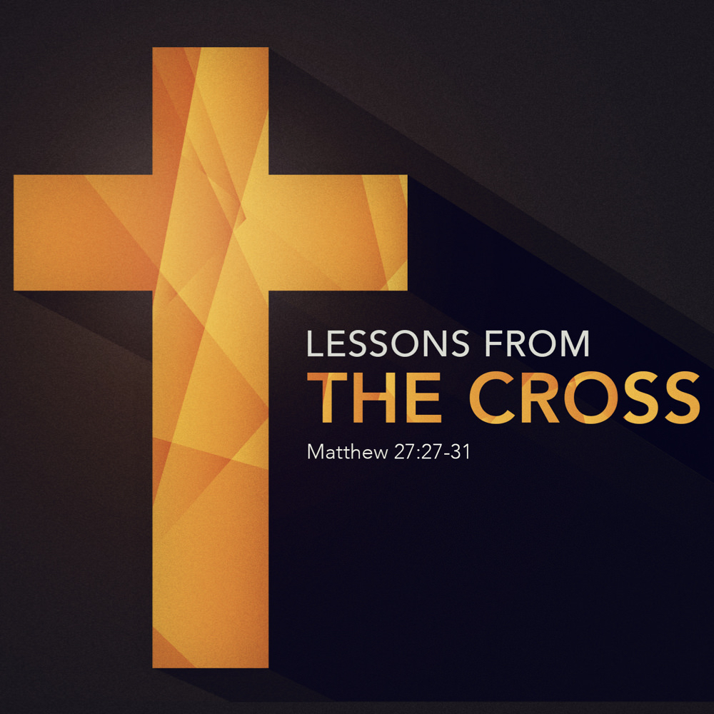 At the cross… - …is where Christ conquered sin once and for all. To conquer sin in our lives it is critical to remember what the cross teaches us: to be in awe of what God has done, that you cannot overestimate the seriousness of sin, and that God's love in unbounded.(March 17, 2019 — Sunday AM Sermon)