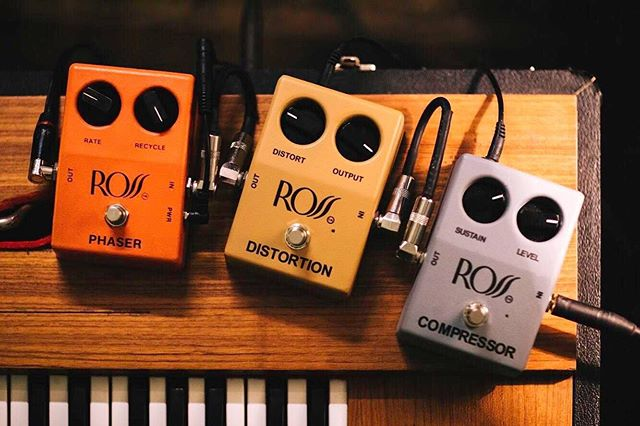 T🦊O🐒N🐺E  The PHASER is vintage. The DISTORTION n COMPRESSOR are our reissues and AVAILABLE AT OUR WEBSITE