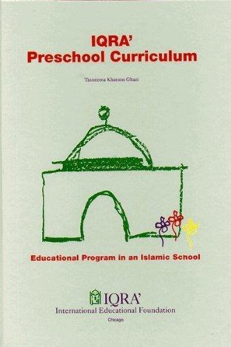 Preschool Curriculum Lesson Plans