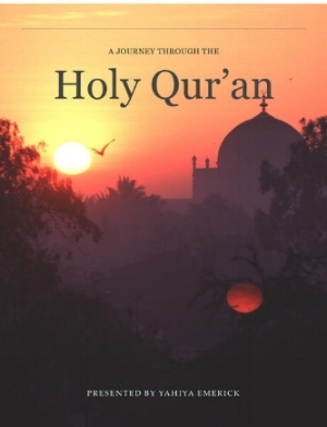 A Journey through the Holy Qur'an - This is our signature translation edition.  How is it different from the other versions?  It has less tafseer than our study edition, and the reasons for revelation are in-line with the text in small blocks which make the experience of reading the meaning of the Holy Qur'an more like a novel or a continuous narrative.  There are many ways to purchase this edition, including a very handsome rendition on the Apple iBookstore.  Choose the button of your choice below!
