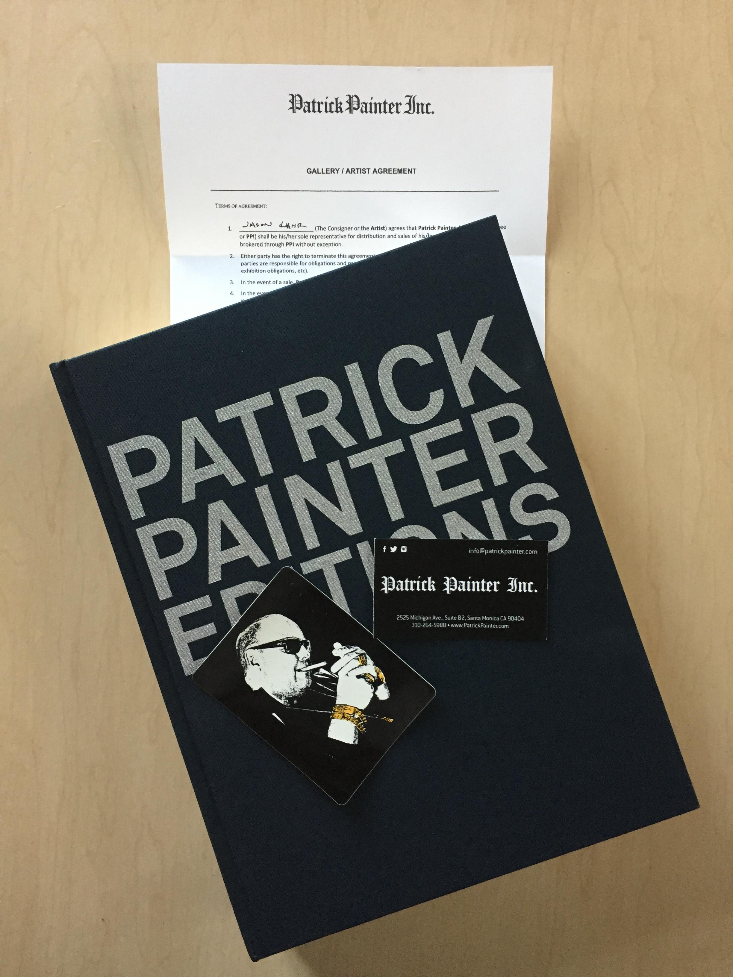 Epic  Patrick Painter Editions  catalog and other ephemera