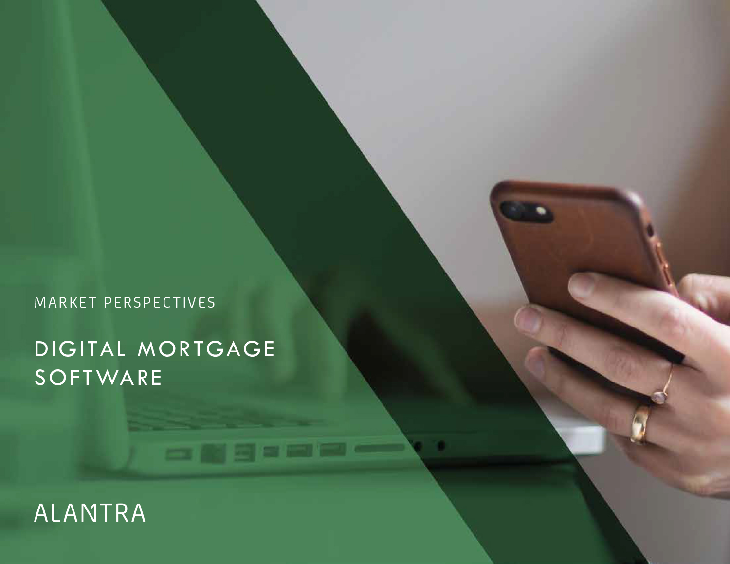 Digital Mortgage software - Consumer expectations driving innovation across the ecosystem for modern, mobile mortgage application experience- 'Rocket Mortgage' effect. Agents and loan officers adopting digital solutions to simplify complex workflow as the technology has proven value to increase volume. Attractive segment for private investors and early innings of consolidation.