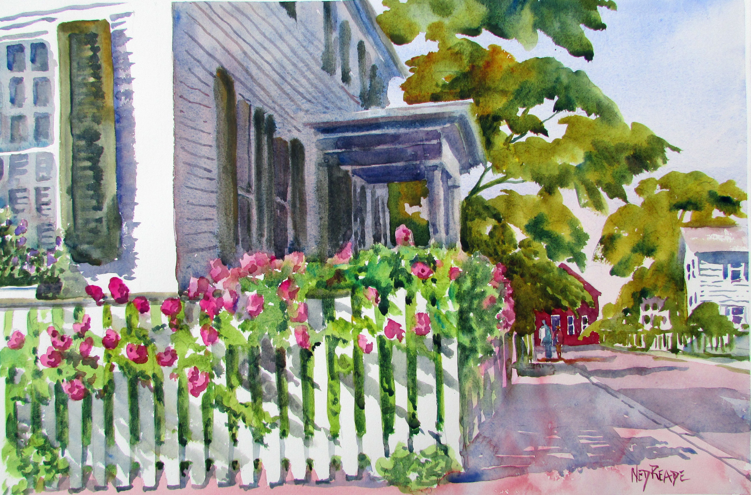 Roses Along the Fence_Reade_watercolor.JPG