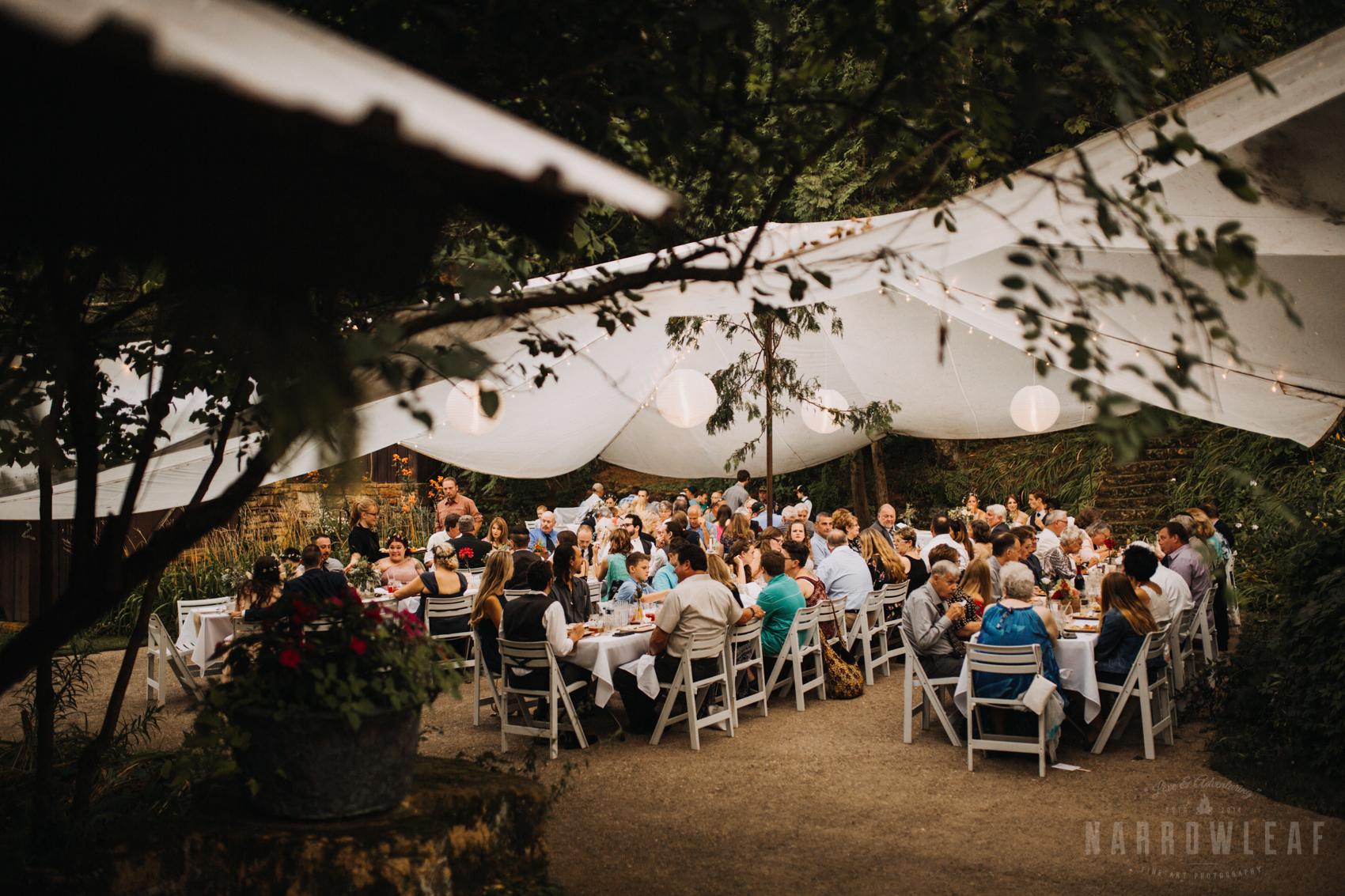 wedding reception in wisconsin