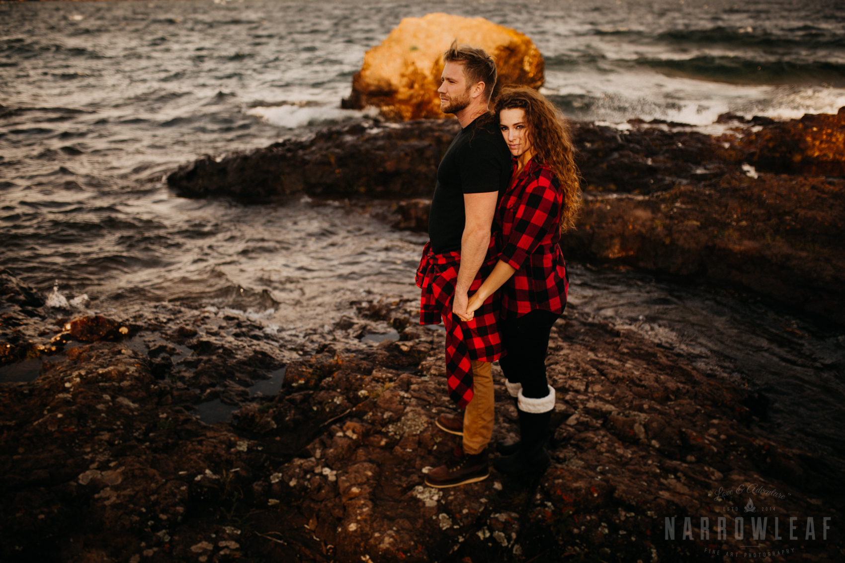 Moody Engagement Photographer in Northern Minnesota