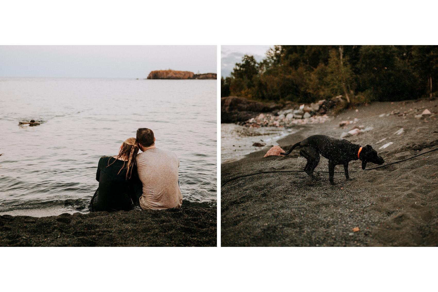Engagement photo ideas for adventurous couples