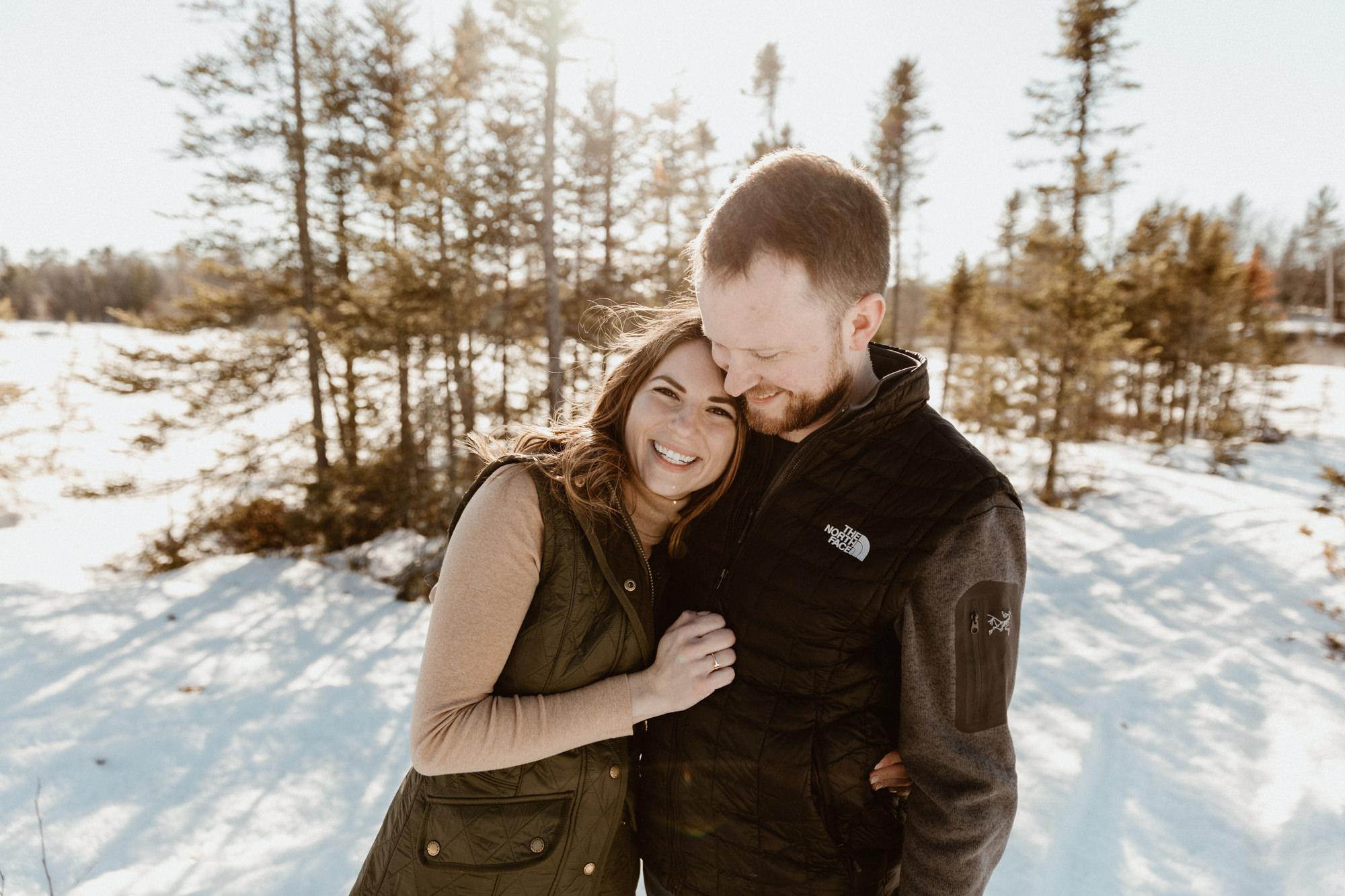 Adventurous couple photography