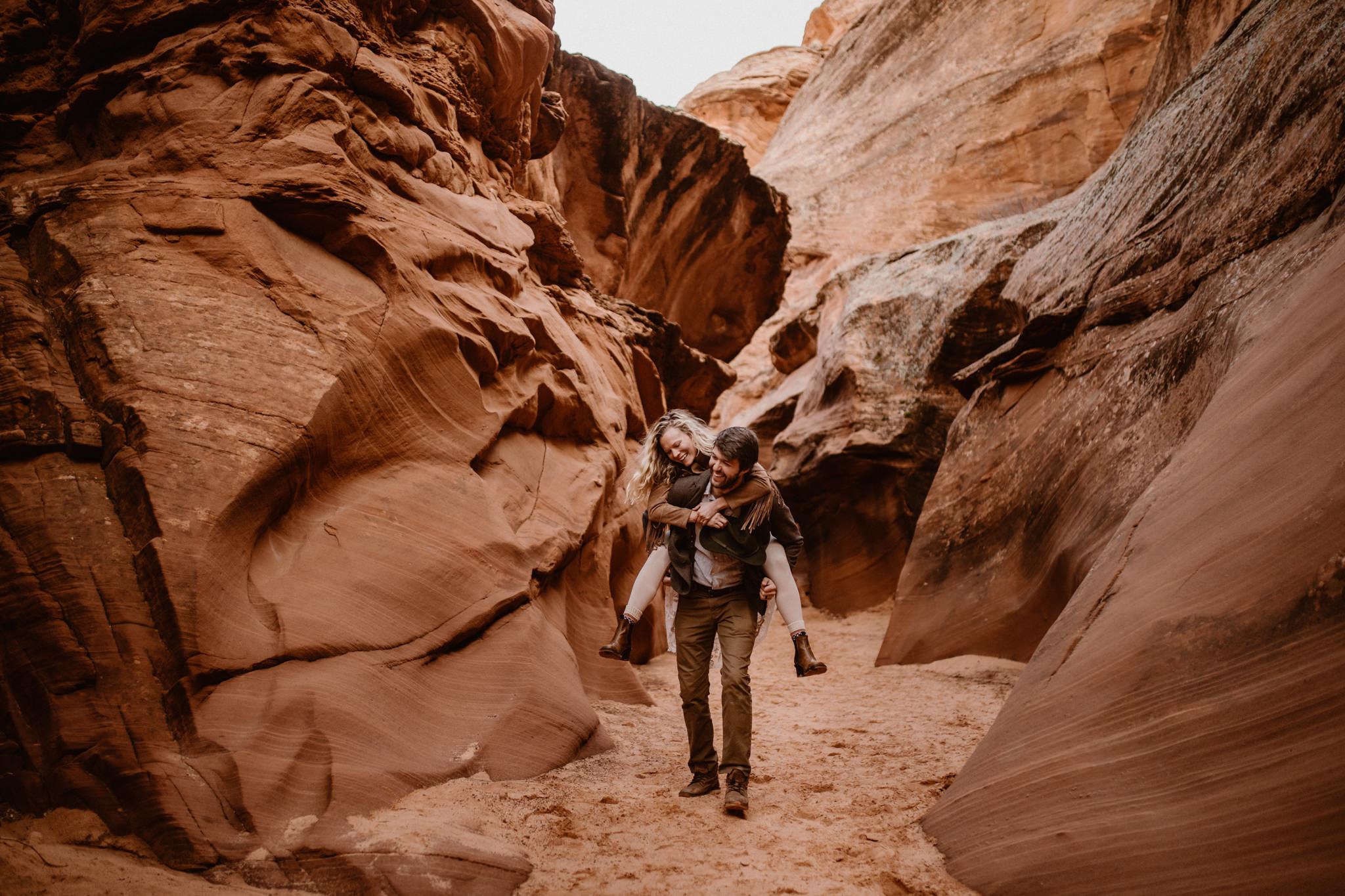 Lake Powell adventure wedding | desert elopement inspiration | Arizona wedding and elopement photographer