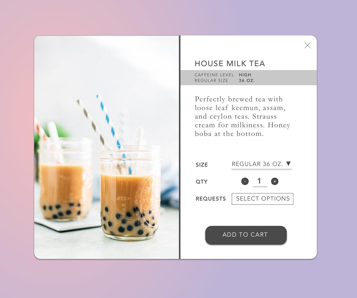 Daily UI #12: E-commerce shop (single item)