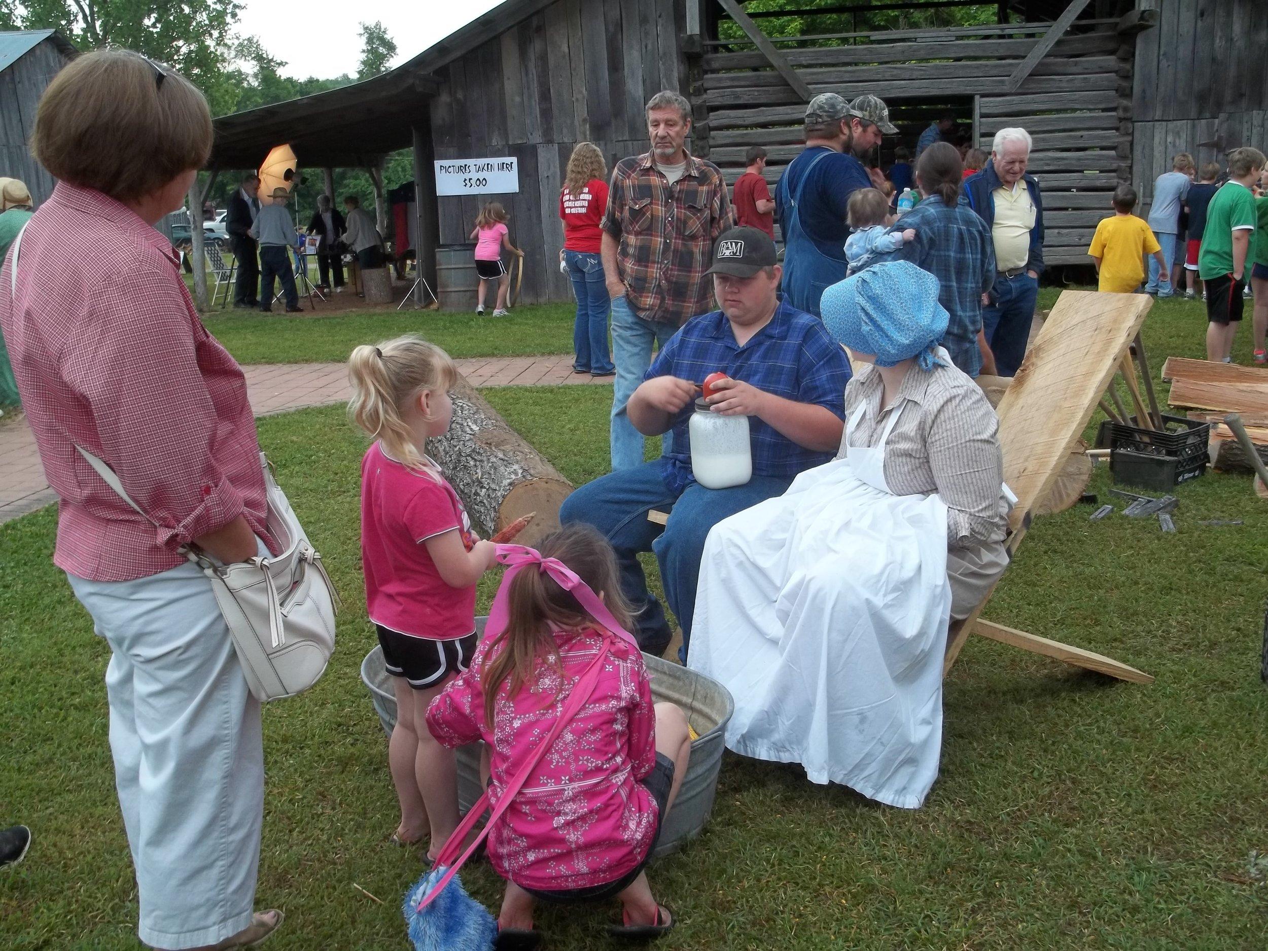 april 2012 civil war days at heritage homested 017.jpg