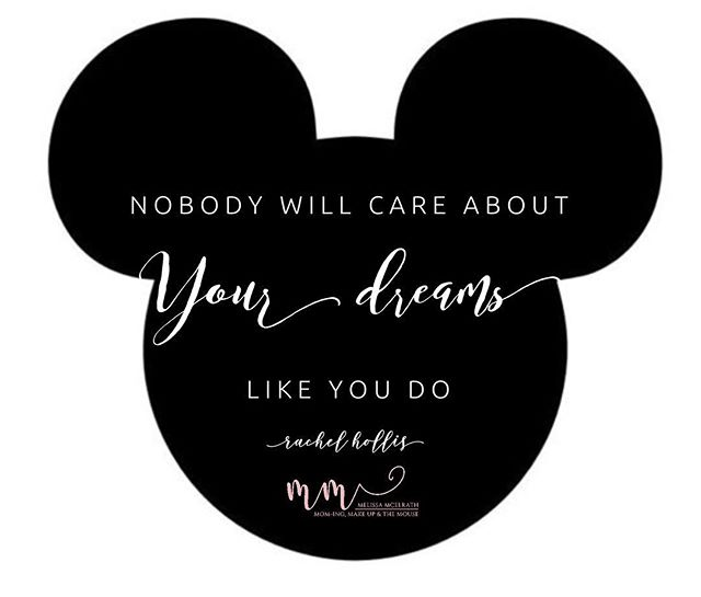 #motivationmonday  Last week I went to see the Rachel Hollis movie #madeformore, and this quote hit home for me. YOU are in control of YOUR dreams. YOU get to decide what your dreams are and YOU get to work hard for them and make them happen. Nobody can decide your dreams for you so dream a little 😍  What is one of your dreams? No dream is too small or too big. Mine is to travel Europe for 2-3 weeks, and mark my words I will get there.