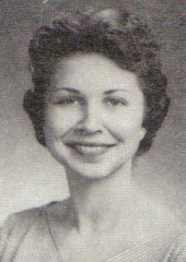 Marilyn Boston, 1954