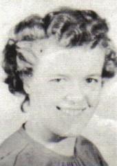 Mary Grace Mullinix, 1950