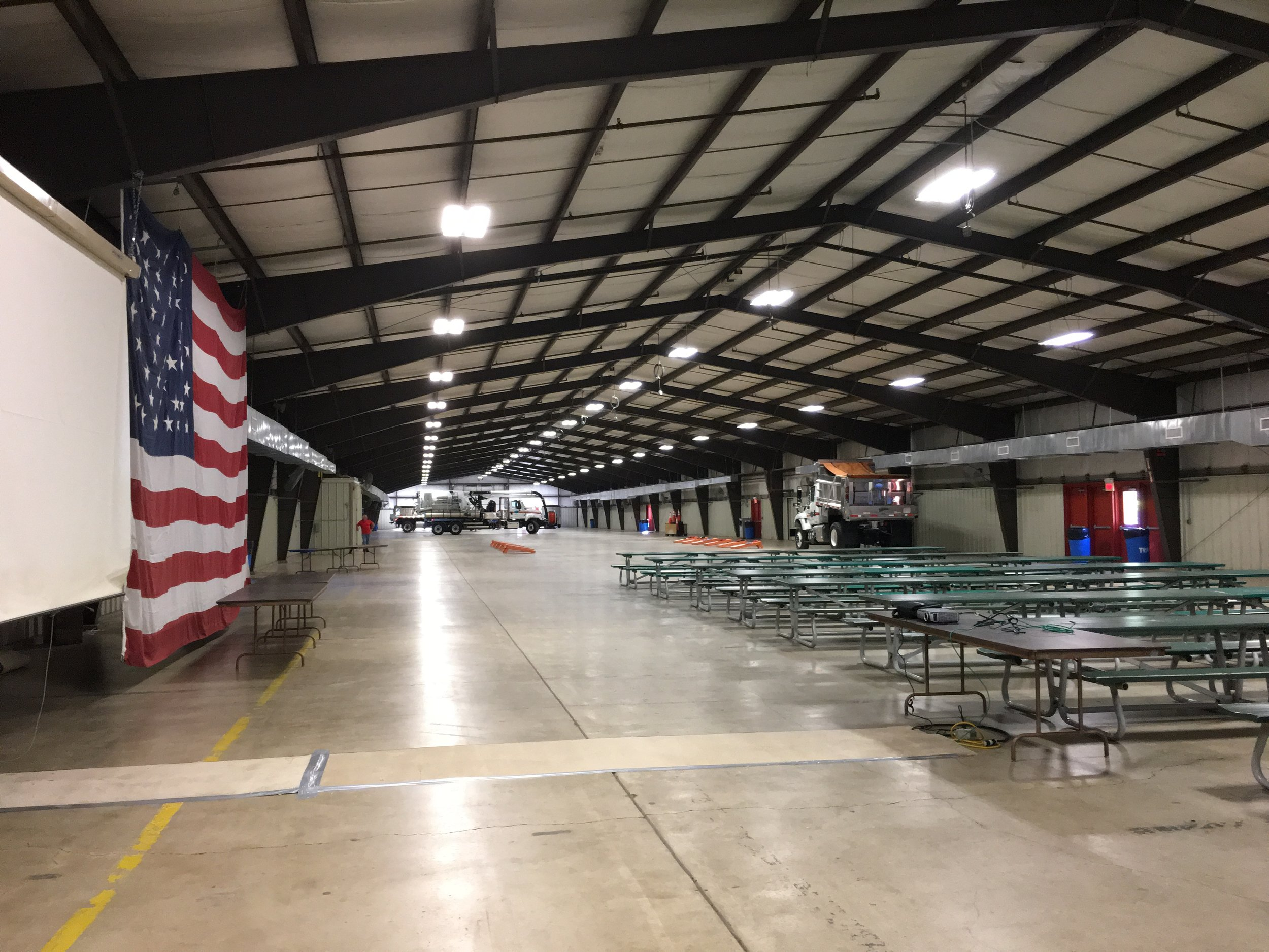 Main Exhibition Hall - Snow Rodeo (Oct. 3-5, 2017) - set up for indoor activities #2.JPG