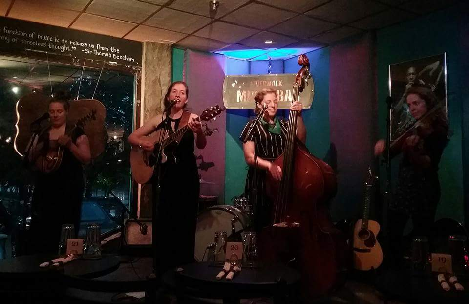 Green Sisters at Riverwalk Cafe & Music Bar