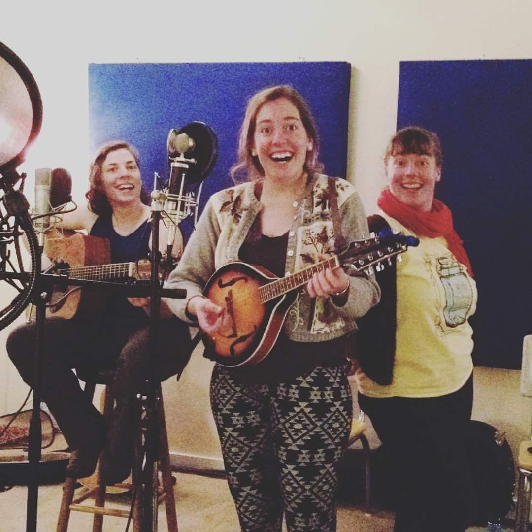 Green Sisters at Ruckus Studios