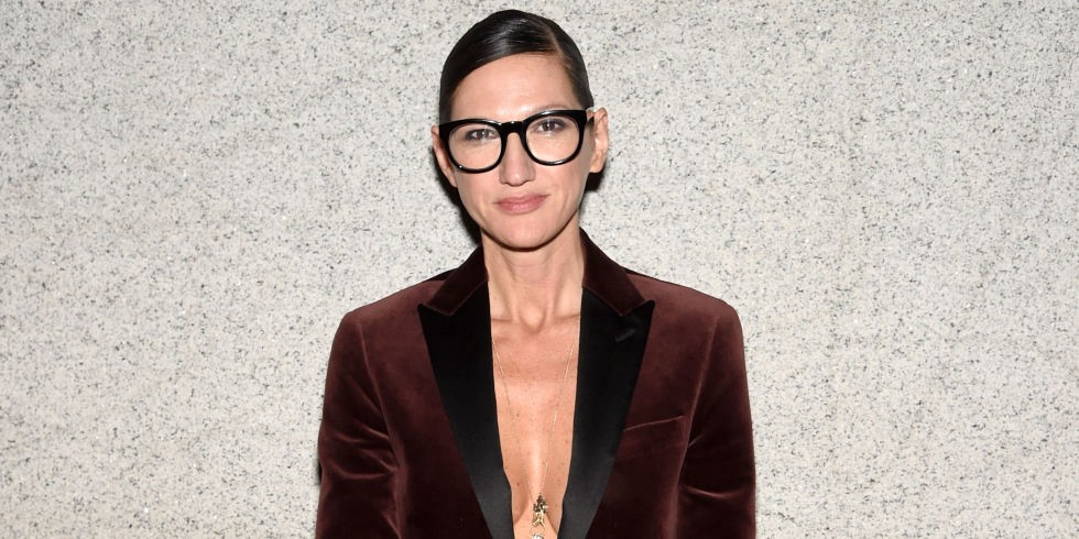 Jenna Lyons:Signature Glasses - The former Executive Creative Director of J.Crew became an icon for reasons that expanded beyond the fashion industry. She had a penchant for spotting rising, young talent, standing up against gender inequality, jumping into acting on the hit show Girls and pushing the boundaries all over the red carpet. And she was never without her signature spectacles, which became synonymous with fierce, empowered women unafraid to raise eyebrows.