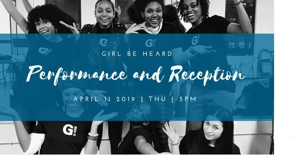 Performance Archive — Girl Be Heard