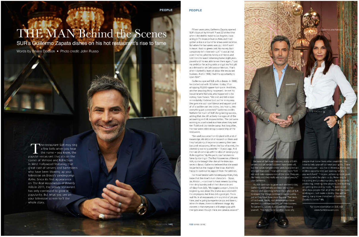Guillermo Zapata - Miami Living - SUR Restaurant and Lounge.png