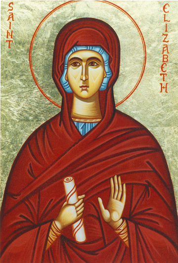 Icon of St. Elizabeth, Mother of St. John the Baptist
