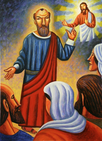 Photo Credit: James B. Jangket, 'Paul Preaching'