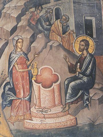 Icon of St. Photini (the Samaritan Woman)
