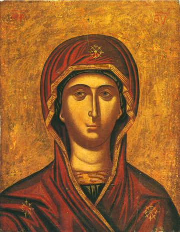 Icon of the Virgin