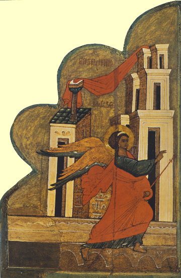 Icon of the Archangel Gabriel (Annunciation)