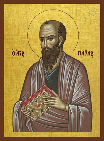 Icon of Saint Paul