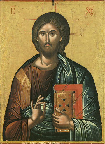 Icon of Our Lord Jesus Christ (Dionysiou)